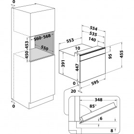 Máquina de Secar Roupa ZANUSSI ZDH8333W